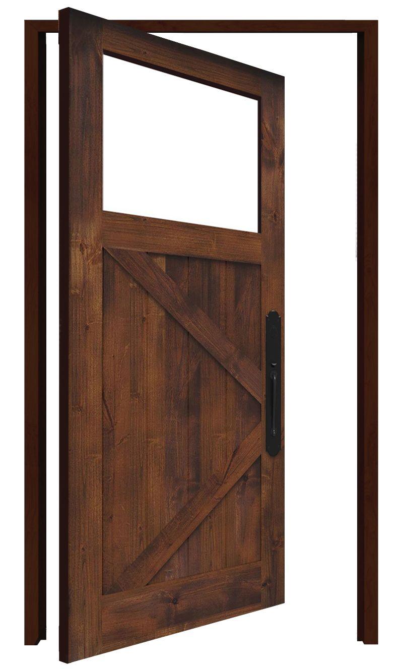 Shoemaker Interior Pivot Door