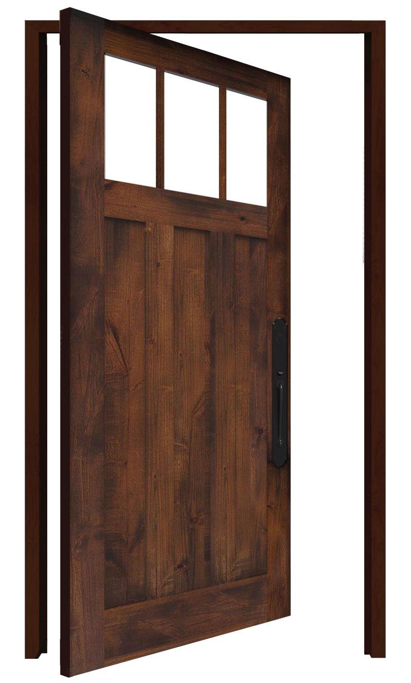 Overland Interior Pivot Door