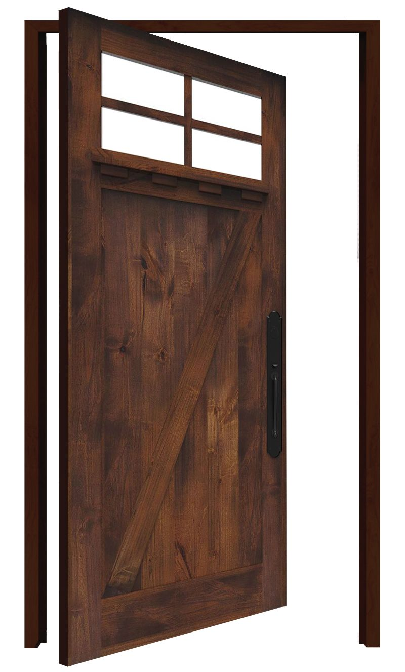 Skyline Interior Pivot Door