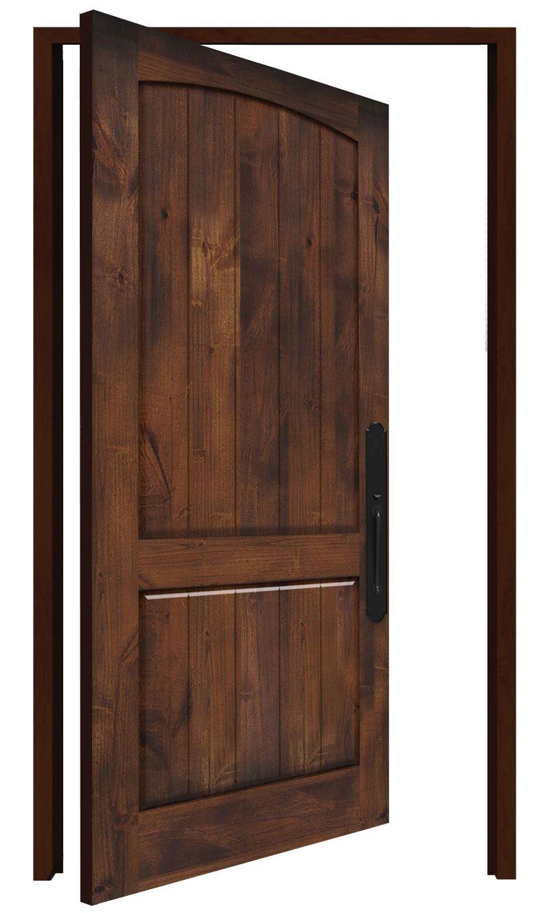 Pump House Interior Pivot Door