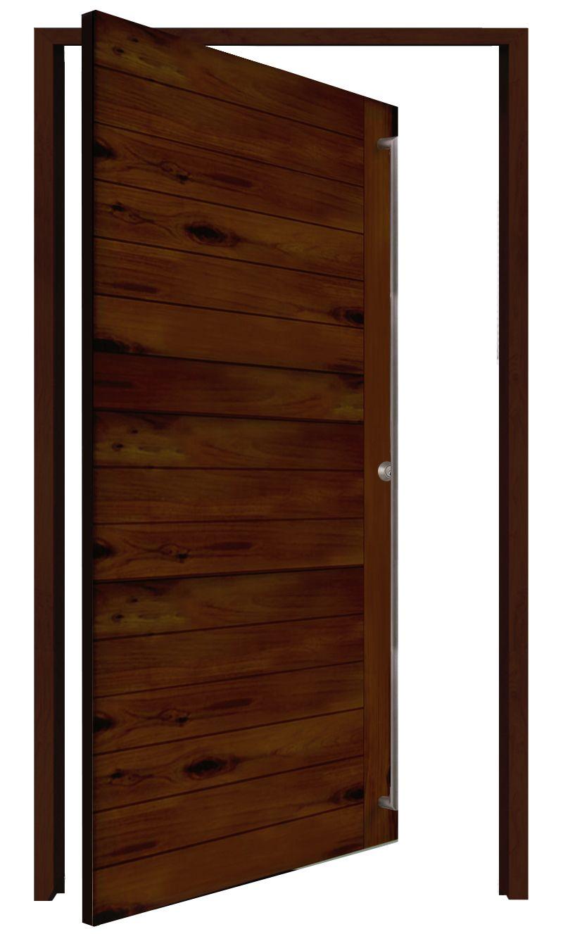 Groundwall Interior Pivot Door