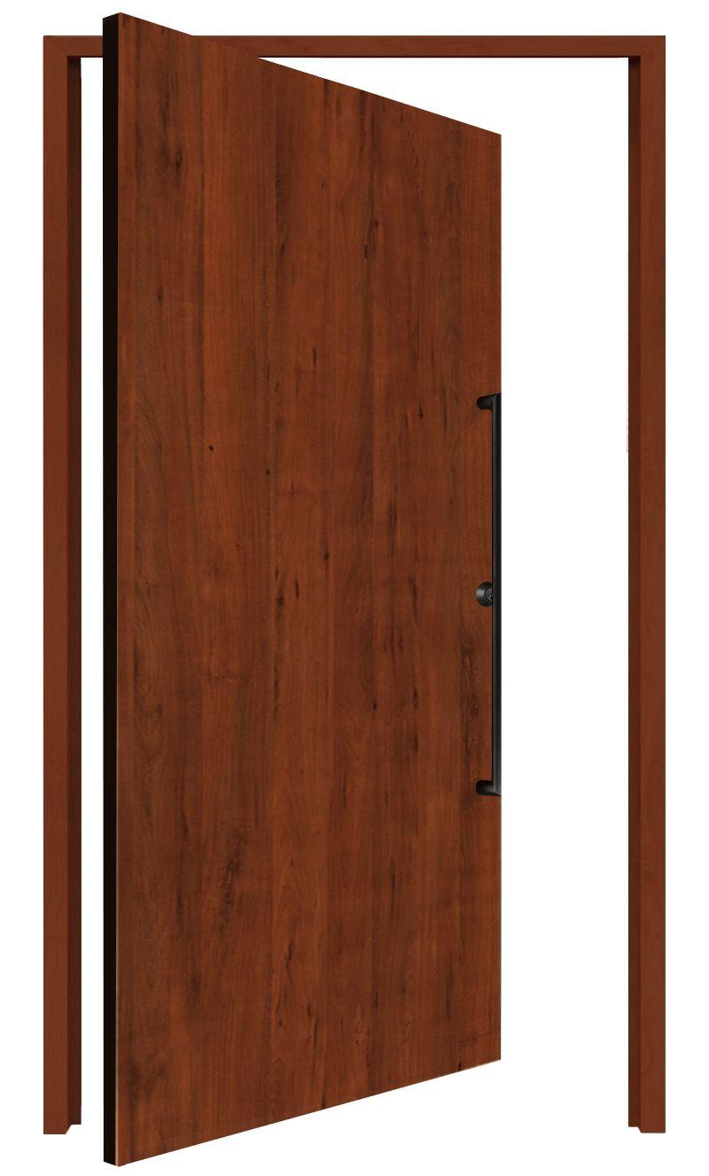 Hillside Interior Pivot Door