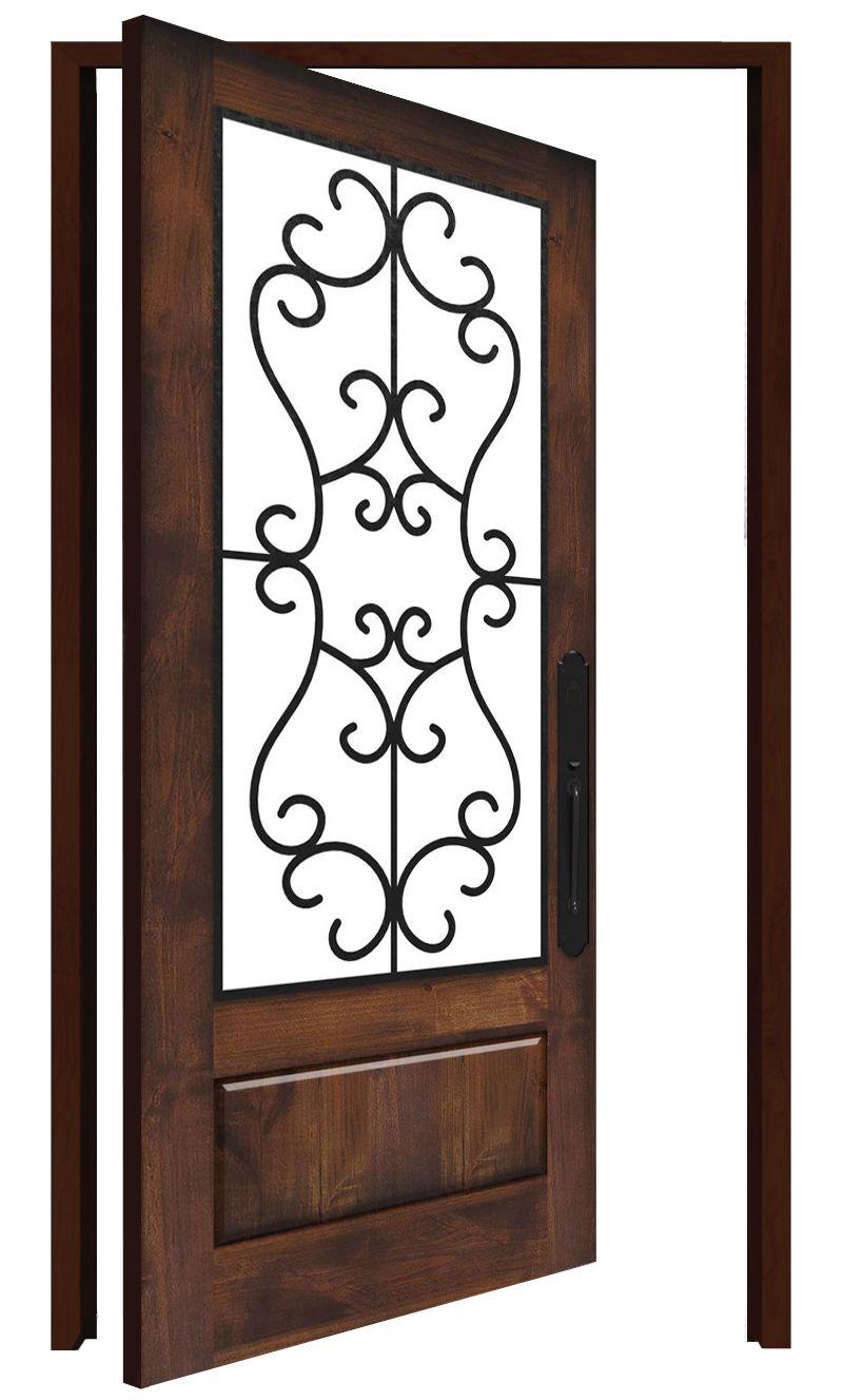 Manor Interior Pivot Door