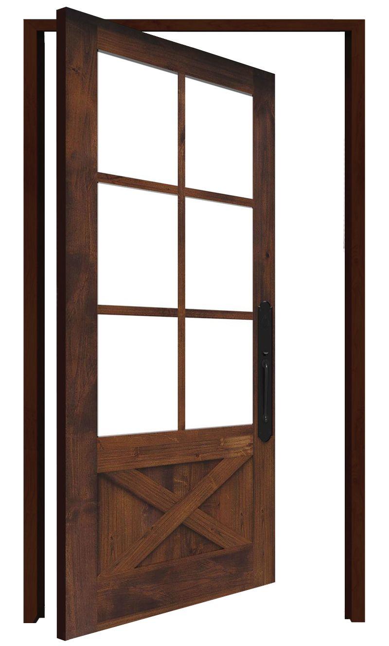Cross Saw Interior Pivot Door
