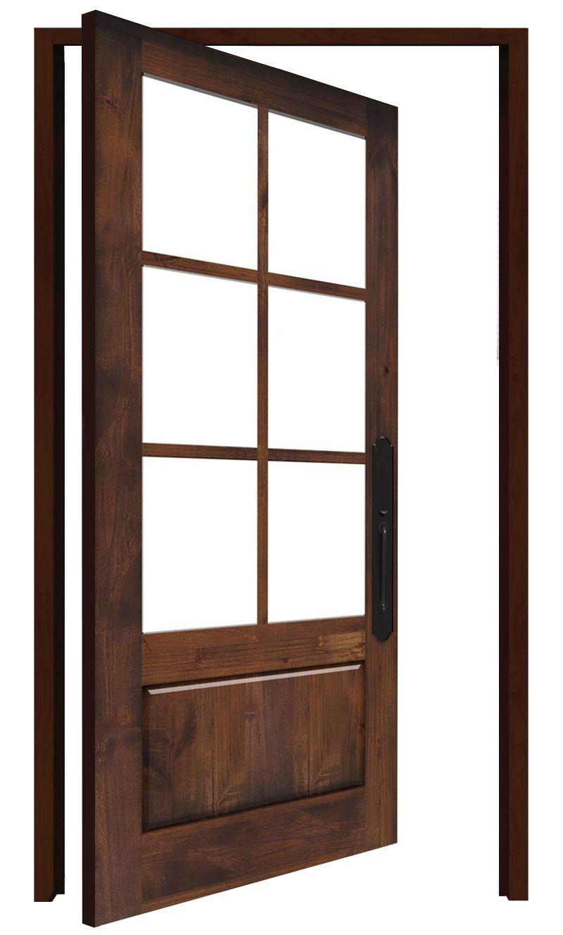 Boat House Interior Pivot Door