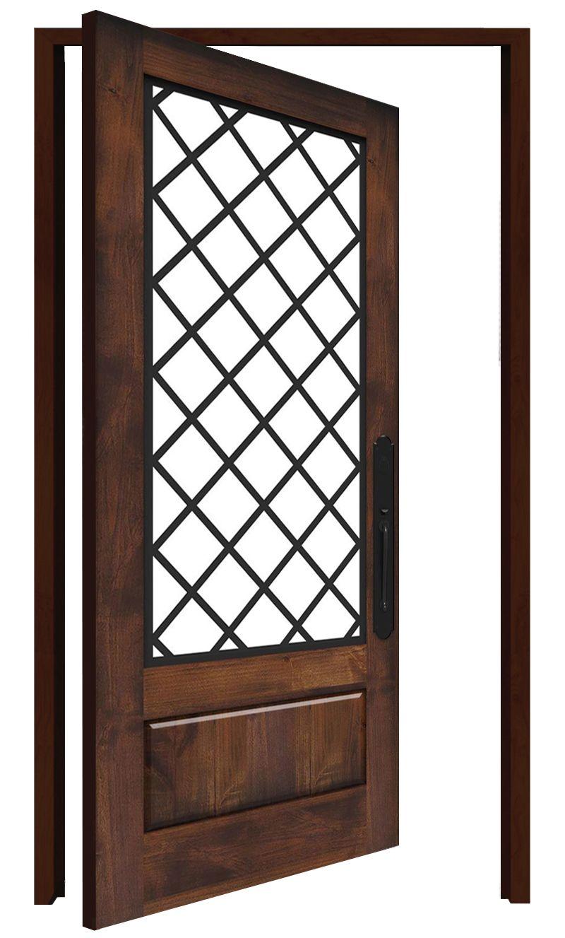 Cathedral Interior Pivot Door