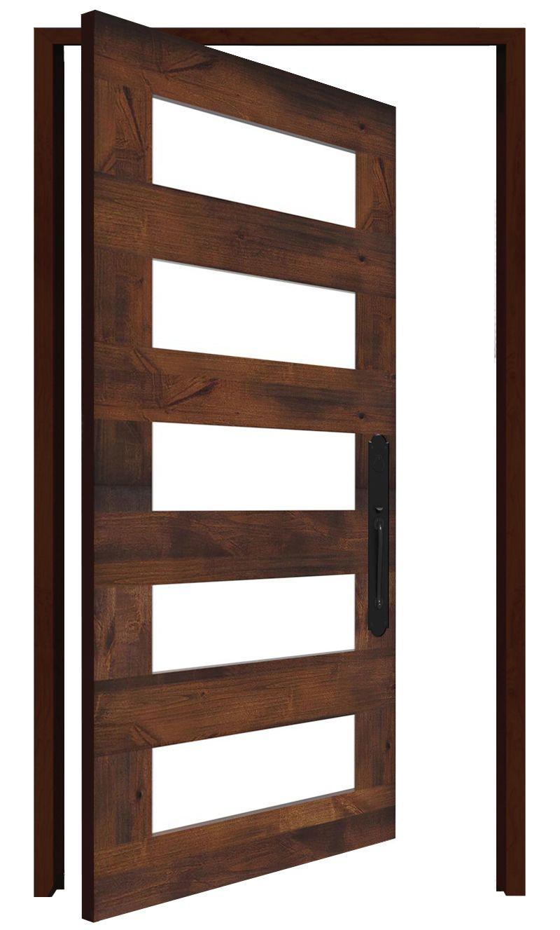 East Bench Interior Pivot Door