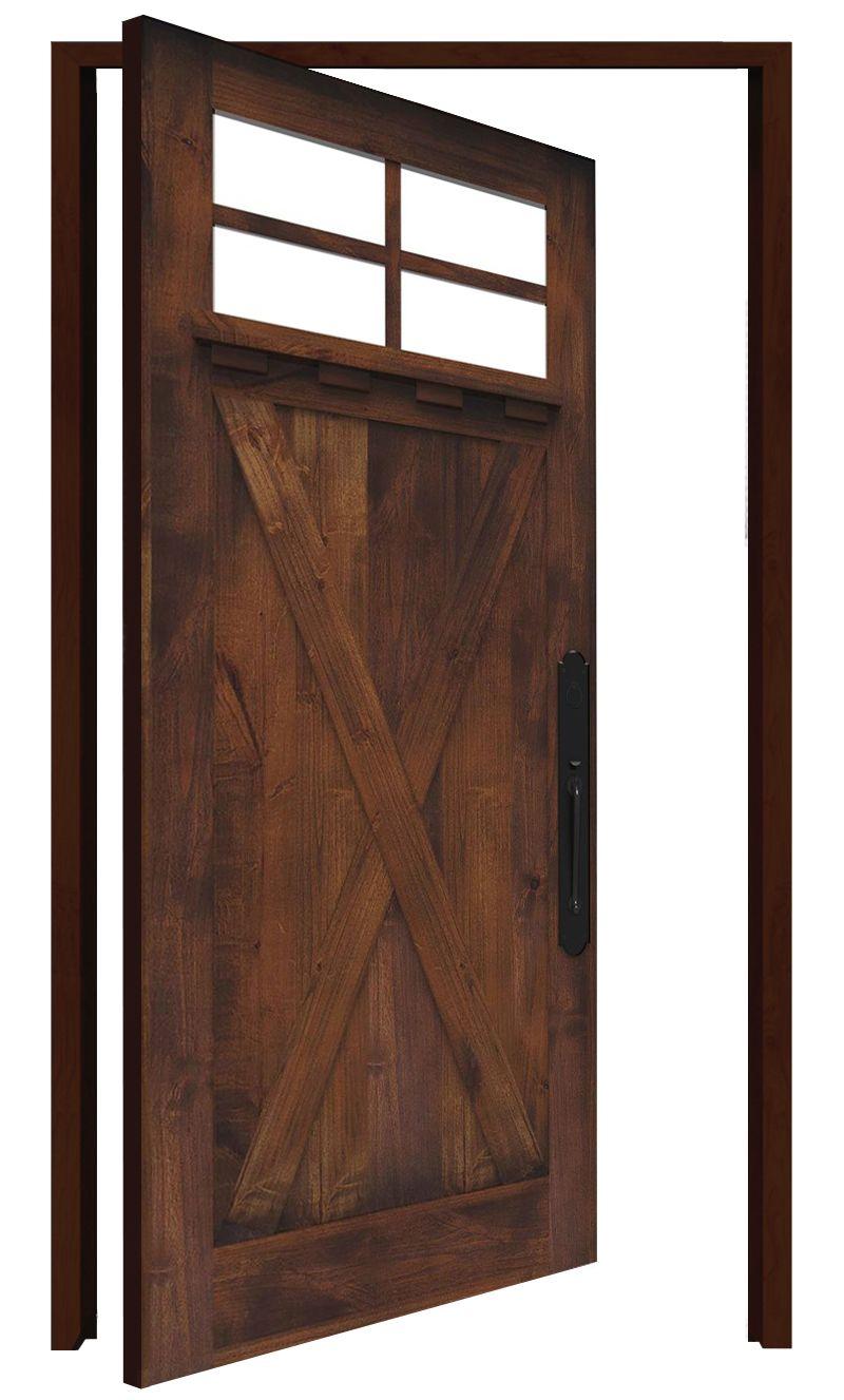 Hobble Creek Interior Pivot Door
