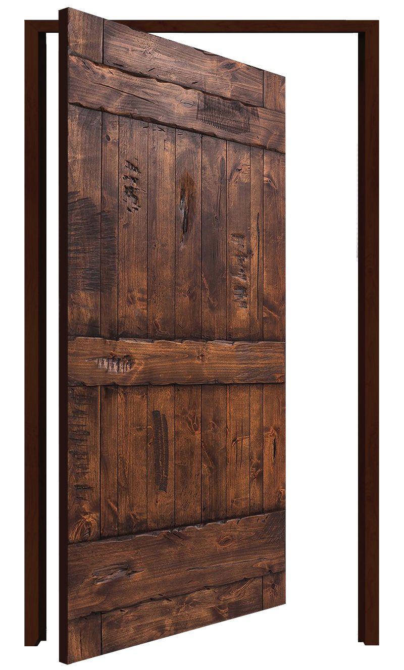 Ranch Interior Pivot Door