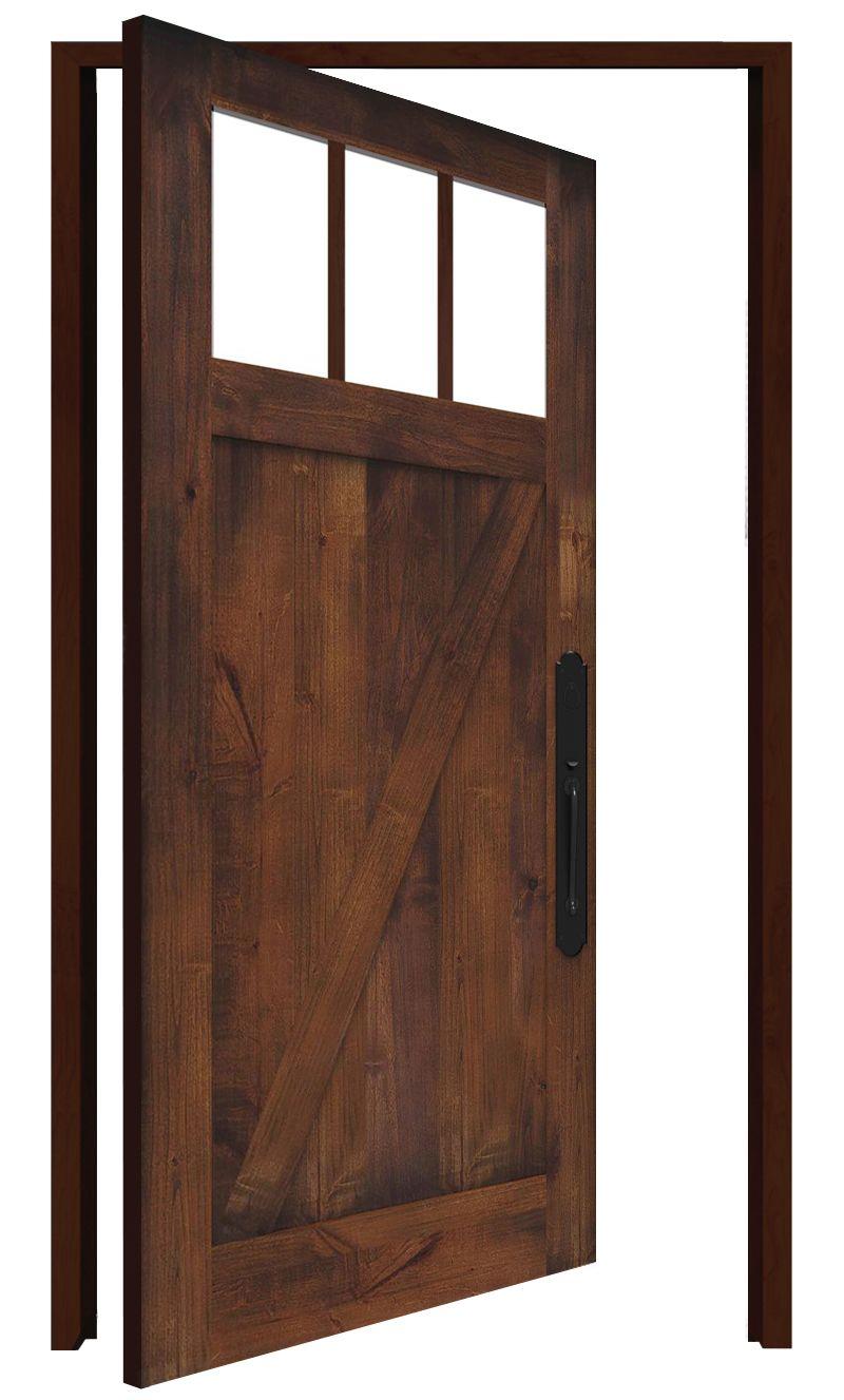 Clover Pass Interior Pivot Door