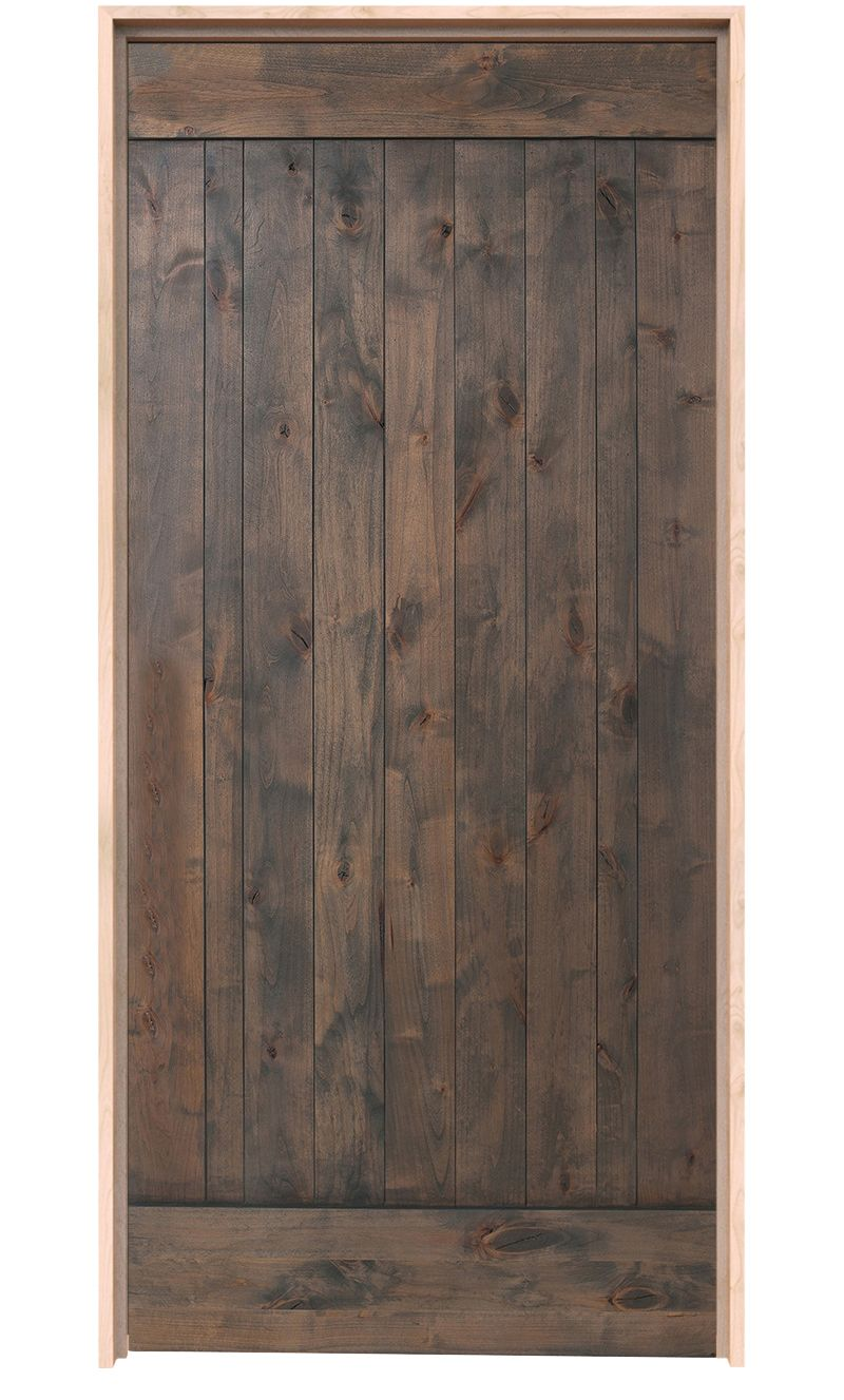 True Exterior Door