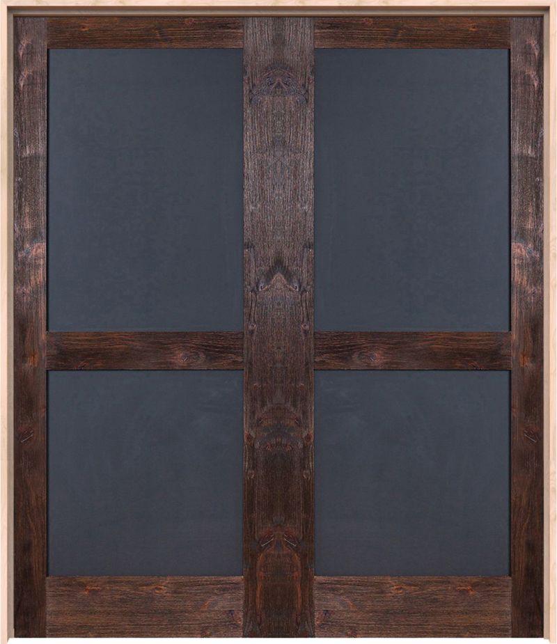 Chalkboard Exterior Double Door