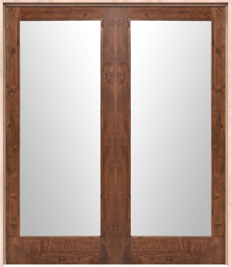 Mirror Exterior Double Door
