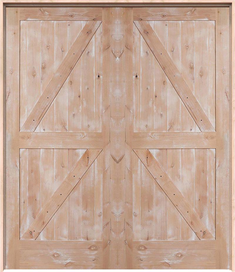 Dutch Z Exterior Double Door