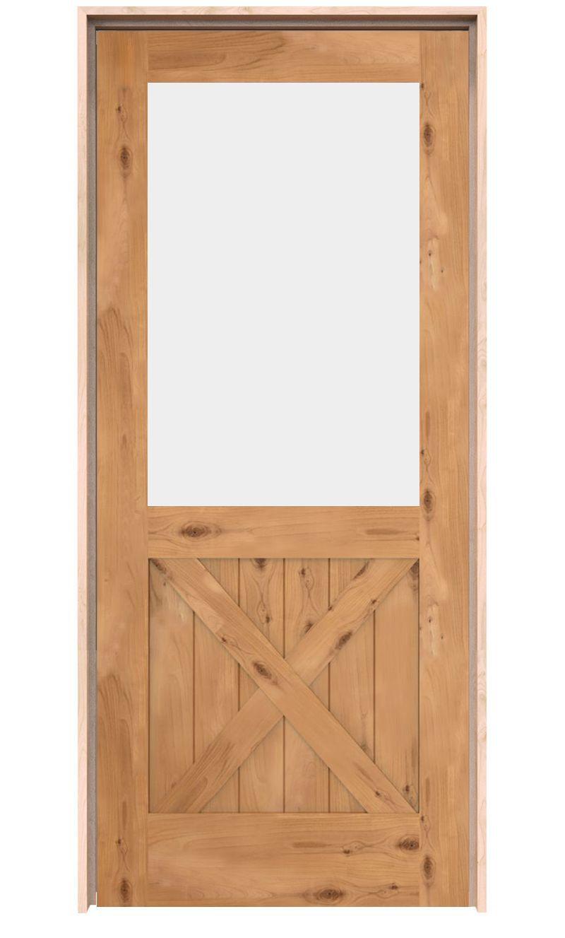 Open Road Exterior Door