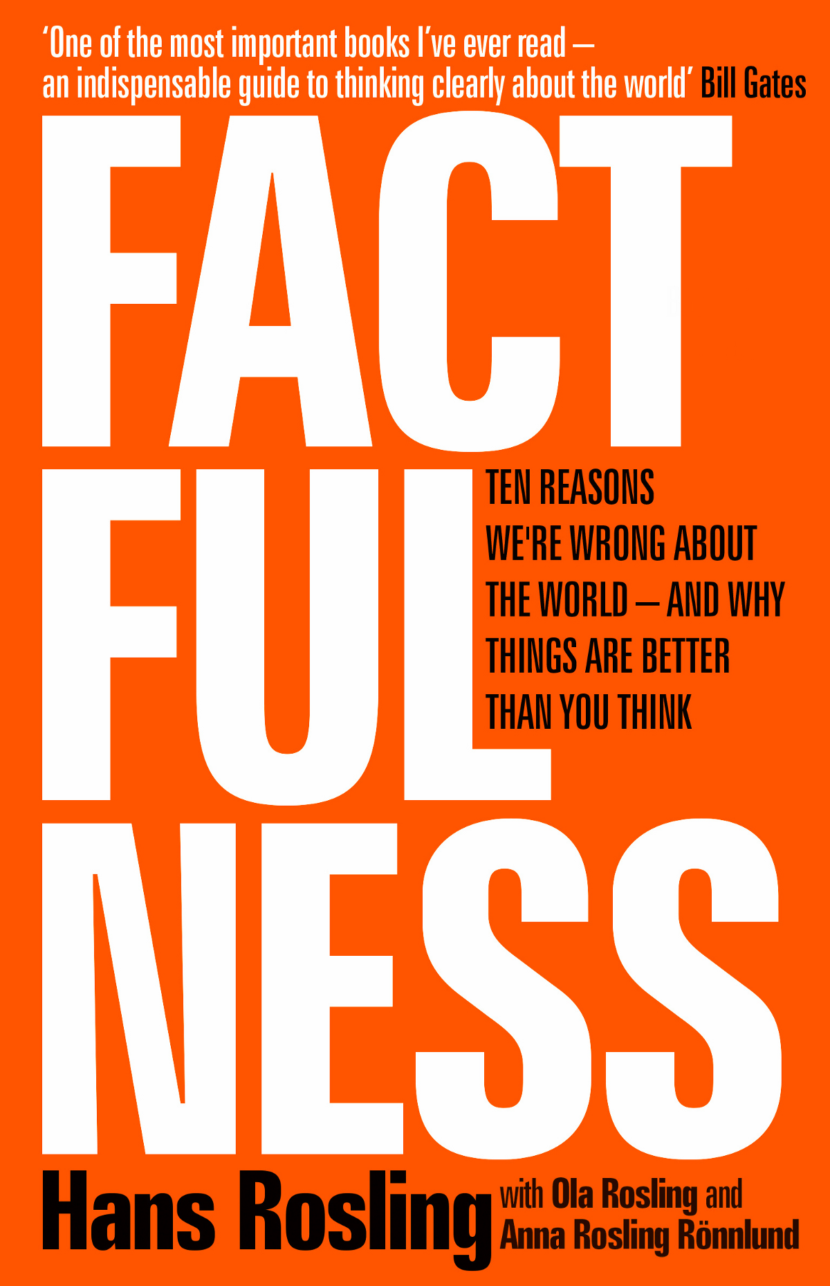Factfulness: Hans Rosling
