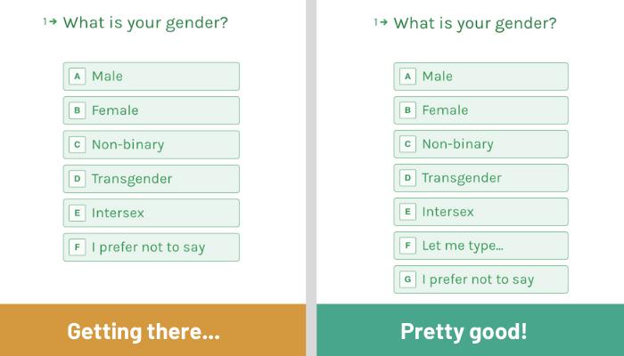 Self-defining gender