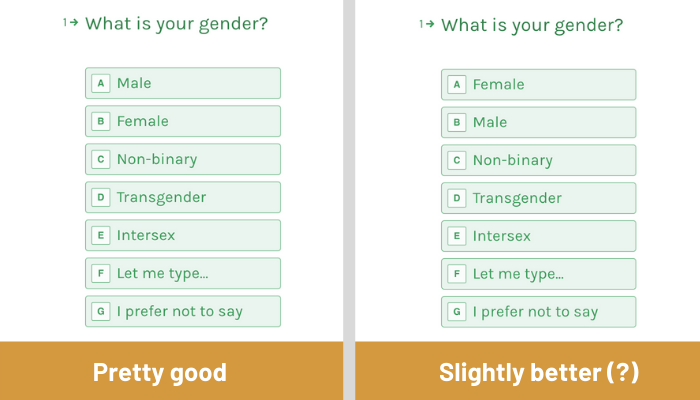 Inclusive forms for diverse people