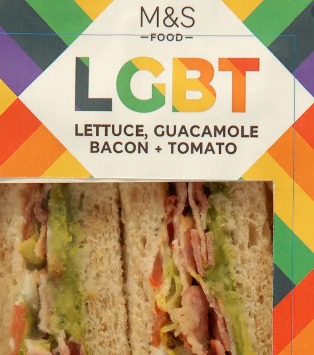 LGBT M&S sandwiches are wokewashing