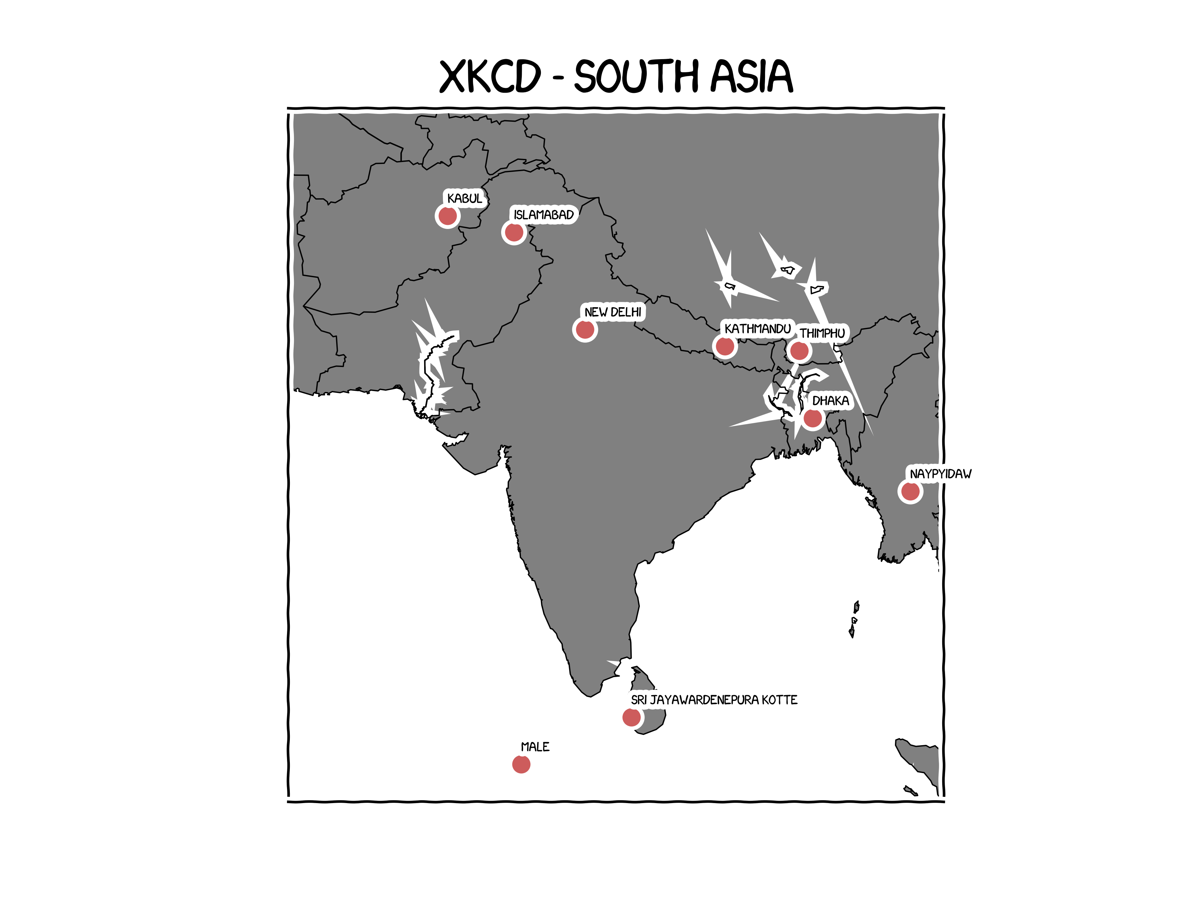 xkcd South Asia