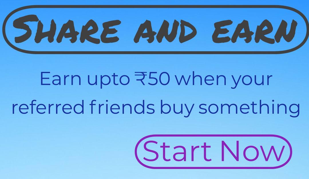 Share and earn