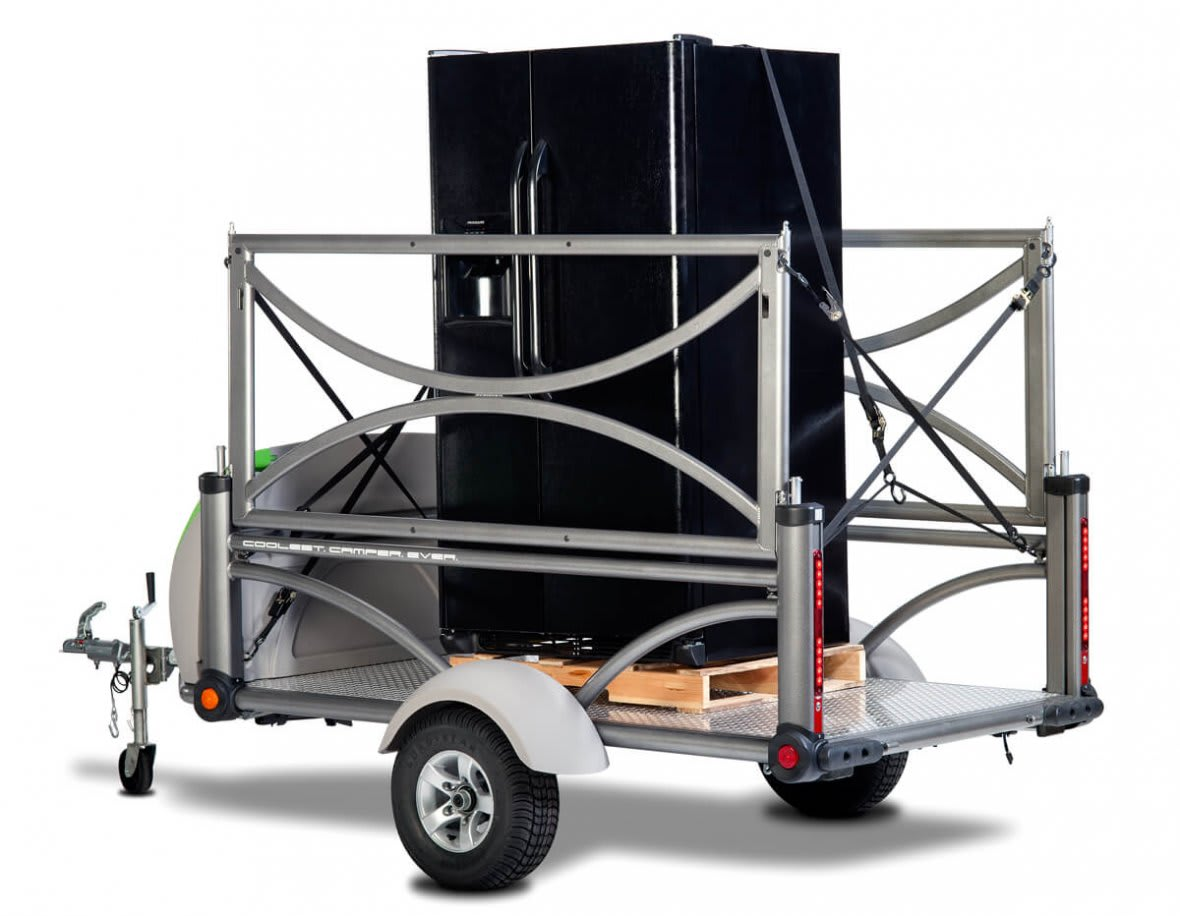 Use your SylvanSport trailer for hauling your washer and dryer!