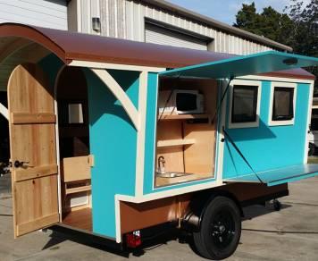 2015 Trekker Trailers Gypsy Wagon - Blue