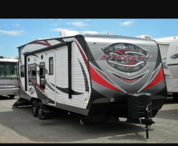 2015 Forest River stealth toy hauler