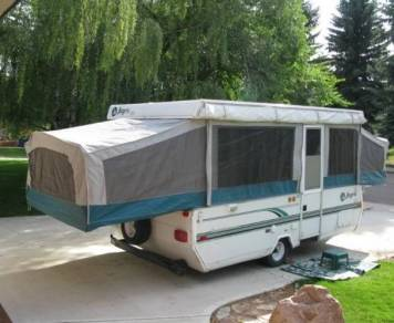1996 Jayco Mdl. 1207 Popup Camping Trailer