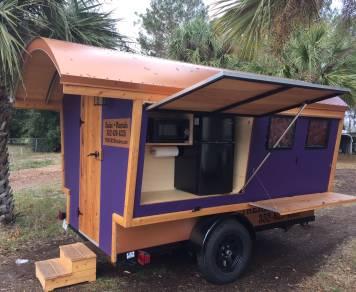 2016 Trekker Trailers Gypsy Wagon - Purple