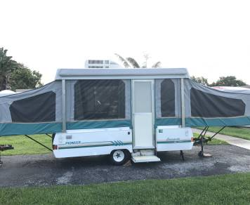 1993 Coleman fleetwood pioneer pop up camper