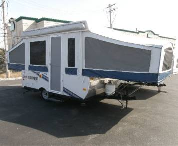 2010 Jayco 1007 Pop Up Camper