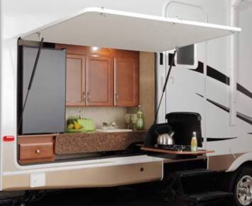 2010 Colorado 31' 2 slide outdoor kitchen