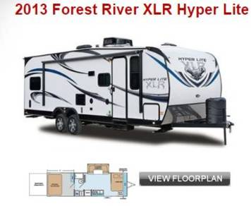 2013 XLR by Forest River Hyper Lite series Toy Hauler
