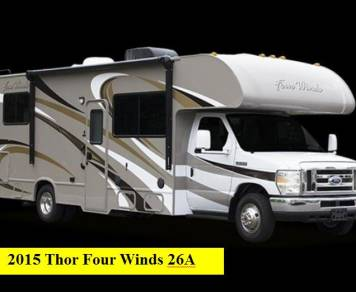 2015 Thor Four Winds 26A