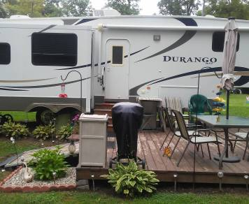 2008 KZ Durango 5th Wheel D325SB