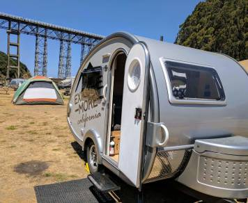 2017 T@B U-Shape Teardrop Trailer