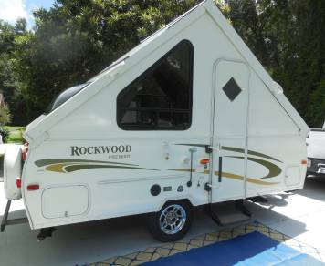 2013 Rockwood A122 Hardside