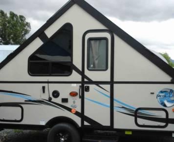 2017 Palomino RL-12R folding A-Frame trailer