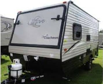 2017 Coachman clipper 16rbd