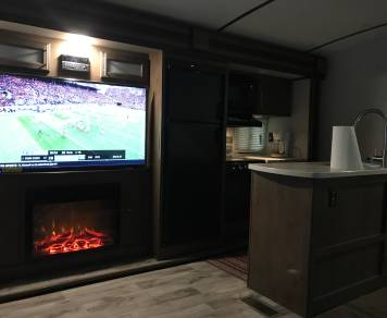 2018 Cougar 34tsb Bunkhouse
