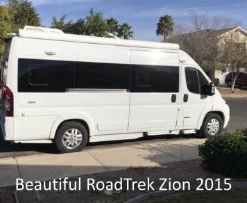 2015 RoadTrek Zion