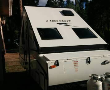 2016 Flagstaff folding camper