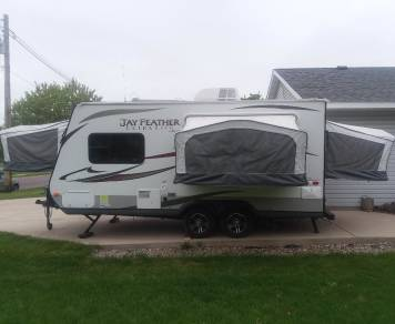 2013 Jayco Jay Feather Ultra Lite18D