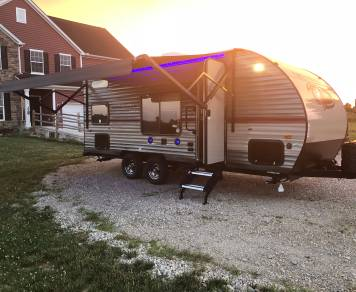 2019 Forest River Grey Wolf 17bhse