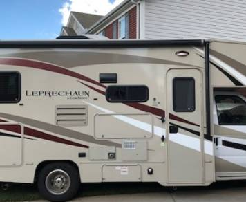 2016 Coachman Leprechaun with Outdoor Entertainment Center and FULL Kitchen Included