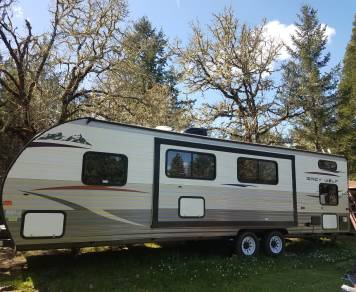 2015 Forest river Grey wolf 26 double bunkhouse