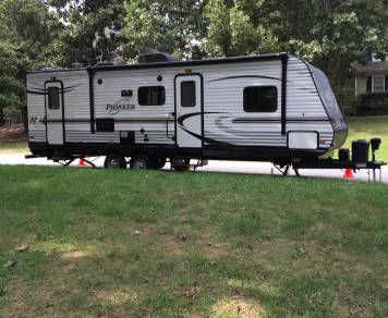 2016 Heartland Pioneer Bunkhouse Style Travel Trailer