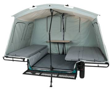 2018 Jumping Jack Trailer 6x8 Tent Trailer