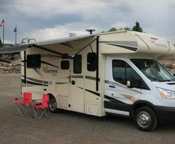 2017 Coachmen Freelander M-20CBT Transit